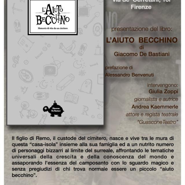 Venerdì 17 giugno ore 21,00 Libreria IBS Firenze